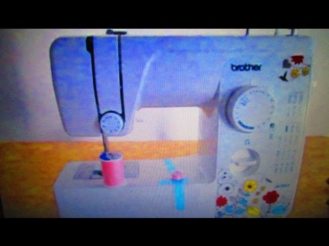 Brother JX40 Lightweight Sewing Machine Instruction Information Inspiration How To Setup A Brother Jx2517 Sewing Machine