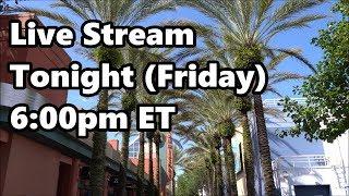 Live Stream Announcement - 10-19-18 - ResortTV1 | Walt Disney World