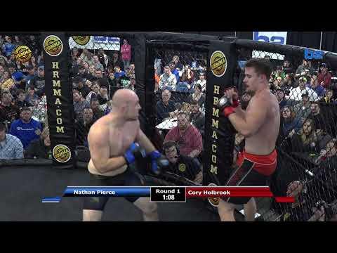 HRMMA 114 Fight 9 Nathan Pierce vs Cory Holbrook 185 PRO