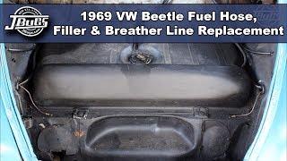 1950-1974 VW Karmann Ghia Fuel Tank Outlet Pipe Kit
