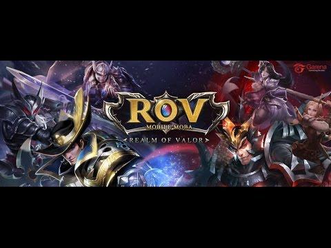 Garena RoV : Realm of Valor MOBA Live EP #25