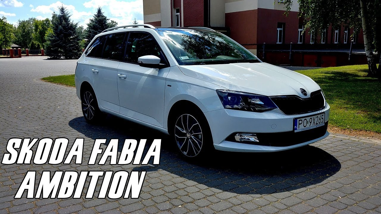 skoda fabia ambition combi 2017 1 2l tsi 115km test recenzja review praktycznego kombi. Black Bedroom Furniture Sets. Home Design Ideas