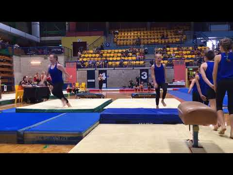 Gymnastics NT Champs 2018 - Active Feet Team Gym experience