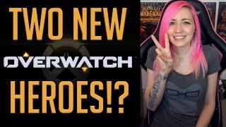 TWO NEW OVERWATCH HEROES?!?! | Sombra | Ana Amari