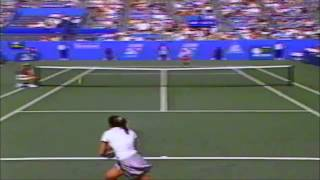 Monica Seles vs Jana Novotna 1995 US Open quarterfinals