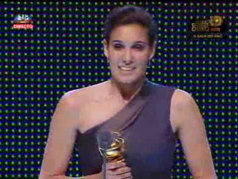 Daniela Ruah wins @ XV Gala Globos de Ouro 2009