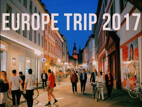USA to Heidelberg | Senior Trip - Europe 2017