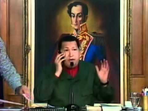 Chávez y el Banco BBVA-Provincial - Incluye denuncias de la gente (1/3)