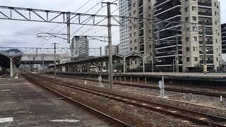 2020.10.11 門司駅 415系発車