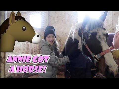 Annie Got a Horse! 🐴 (WK 324)   Bratayley
