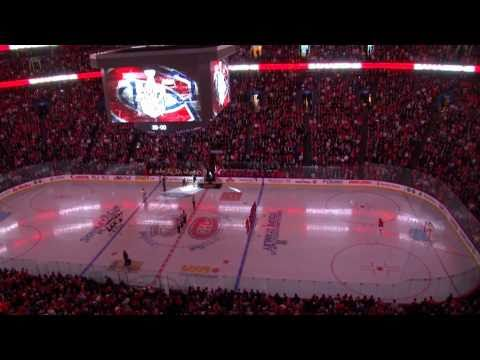 Montreal Canadiens Intro 2011 - NHL Play Offs at the Bell Center - ( 1080p HD )