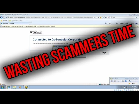 HOW TO WASTE A TECH SCAMMERS TIME