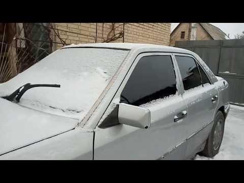 Холодный старт 4.2 V8 Mercedes Benz W124 (2018)