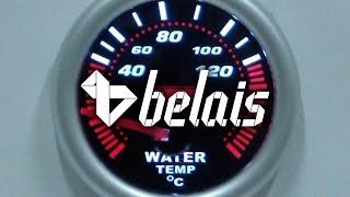 Указатель температуры охл. жидкости «KetGauge» LEXUS STYLE 7702-2 (Ø52) — «Белайс»