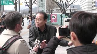 [김일성 3대  火刑式] 이승노 외신 인터뷰  : 저들은 사람 영혼 잡아먹는 악귀(惡鬼)