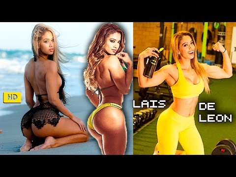LAIS DE LEON Fitness and Bikini Models: Perfect Body Workout Routines for Butt, Abs, Legs and Thighs