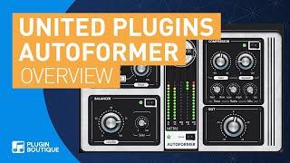 introducing Autoformer by United Plugins | Multi Dynamics Processor VST Plugin
