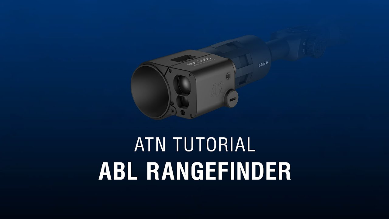 ATN Auxiliary Ballistic Laser Rangefinder - How-To Guide