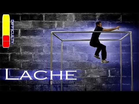 How To LACHE (bar swing jump) - Parkour Tutorial