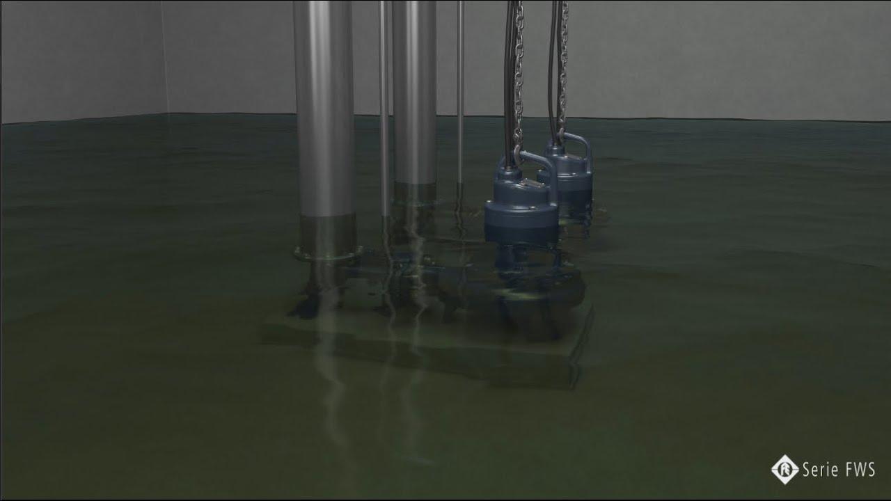 Bombas para aguas negras serie fws youtube - Bombas de agua para pozos ...