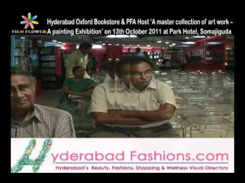 Hyderabad Oxford Bookstore & PFA Host A master collection of art work A painting Exhibition