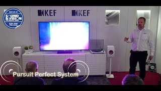 KEF LS50 Wireless HiFi Speakers Full Demo @ Bristol Show Sound and Vision show 2018