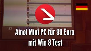 Ainol Mini PC für 99 Euro mit Win 8 Test [4K UHD]