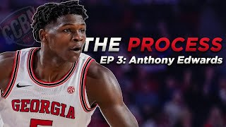 """Anthony edwards is a top prospect in the nba draft 2020. this 6'5"""", 225 lbs shooting guard from georgia university predicted to go 3 of 202..."""