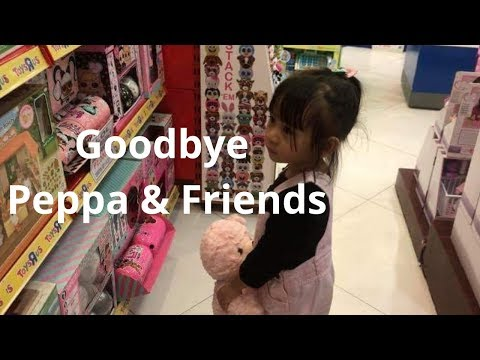 Saying Goodbye To Peppa Pig And Friends At Toys R US
