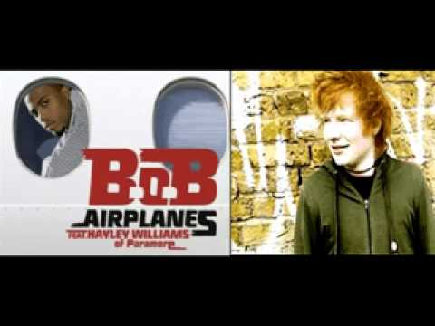 Ed Sheeran - A Team vs B.O.B - Airplanes (Remix Blend)+ MP3 Download Link