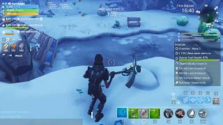 "Fortnite (Frostnite) ""Frozen Thing In the Ice"" Location 2018"