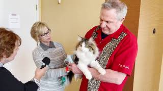 Meowy Hour visits the CFA Cat show in Mesquite, TX.