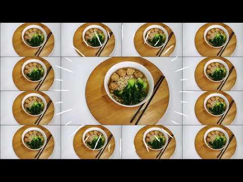 客家肉丸面 Hakka Meat Ball Noodle
