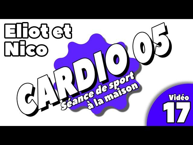 Sport à la maison / séance cardio 5 / Vidéo 17