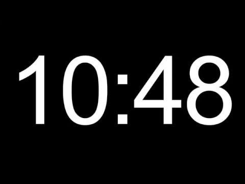 15 minute HD COUNTDOWN TIMER - no sound