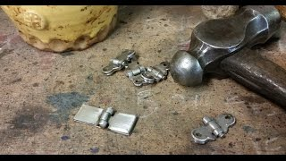 How to make hinges, part 1, Medieval Armor Techniques #4