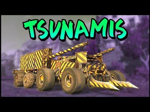 Crossout - DUAL TSUNAMI CANNON BEAST! - Crossout Gameplay