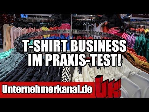 T-Shirt Formel: T-Shirt Geschäftsmodell für Anfänger geeignet? (Teezily, Teespring, Fabrily)