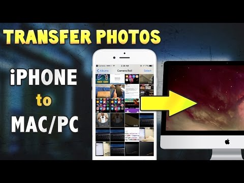 How to import photos from your iphone onto computer