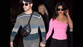 Priyanka Chopra and Nick Jonas arrive back from Oman