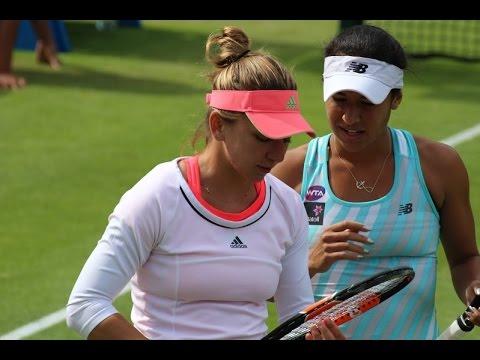 Simona Halep / Heather Watson vs. A.Medina Garrigues / A.Parra Santonja - WTA Birmingham Doubles R1