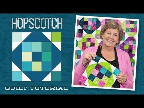 "Make a ""Hopscotch"" Quilt with Jenny Doan of Missouri Star (Video Tutorial)"