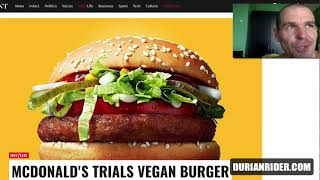 Why I Should Be CEO Of McDonalds & The New McVegan