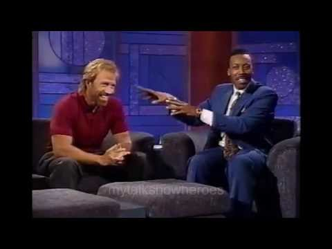 CHUCK NORRIS HAS FUN WITH ARSENIO