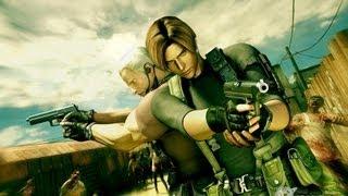 Resident Evil Darkside Chronicles Leon e Krauser Parte 3 HD Full 720p