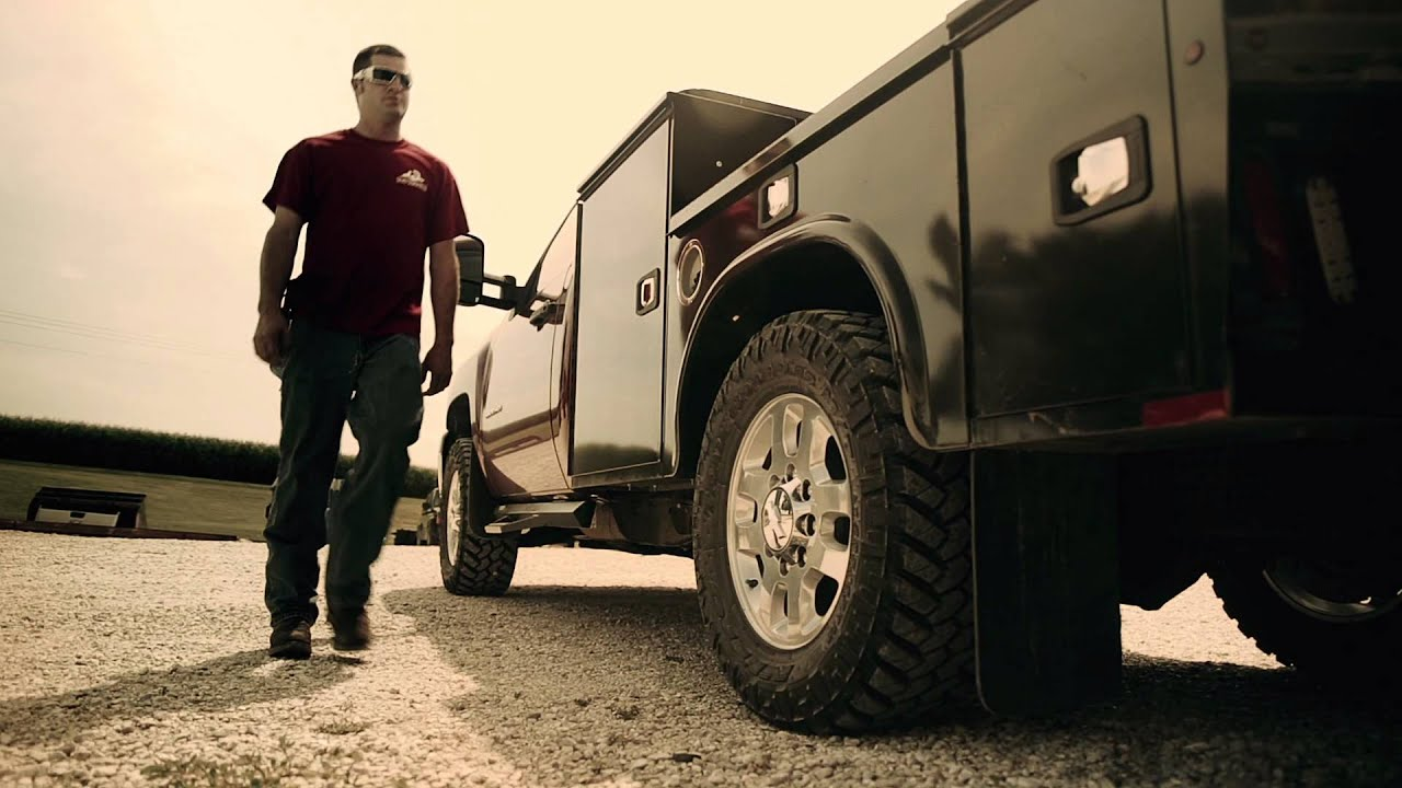 Knapheide Customer Story Bret The Diesel Mechanic Youtube