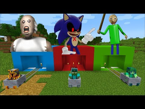 DON'T CHOOSE THE WRONG MINECART IN MINECRAFT !! DON'T FOOL YOURSELF!! DANGEROUS!! Minecraft Mods