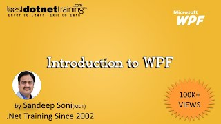 Windows Presentation Foundation (WPF) Tutorial For Beginners - Introduction & Features