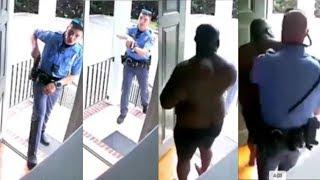 Police Arrest Black Home Owner At Gun Point Mistaking Him For A Burglar