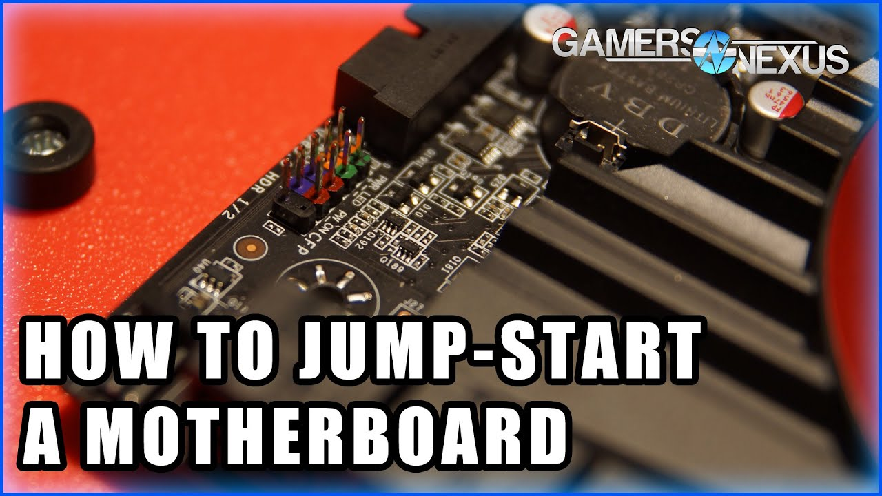 How To Jump A Motherboard Without Power Button Youtube Starting Mount The Lockin Amplifier Circuit Board And Panelmount